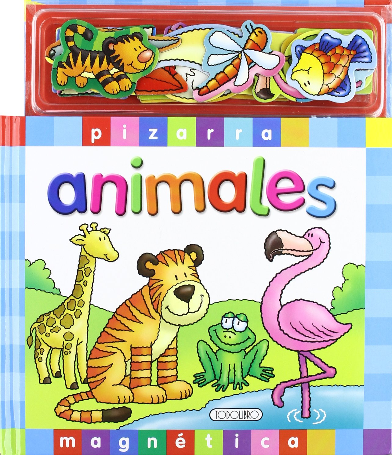 ANIMALES. PIZARRA MAGNETICA: VV.AA.: 9788498063394: Amazon.com: Books