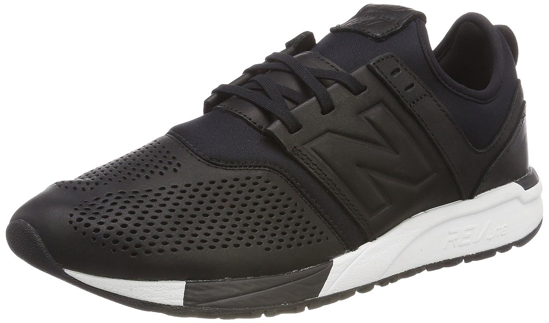 New Balance 247v1, Zapatillas para Hombre 45.5 EU Negro (Black/White Ve)
