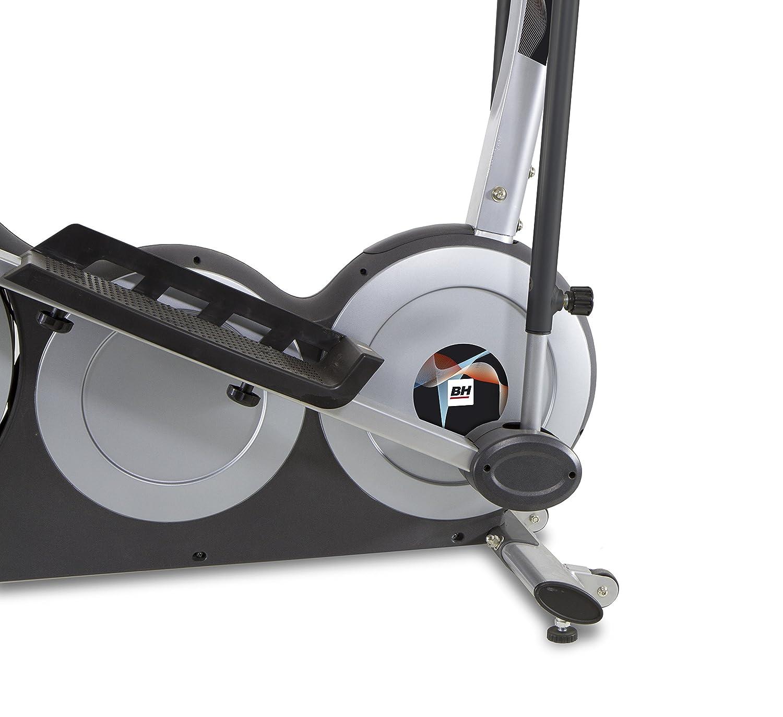 BH Fitness Atlantic Dual Bicicleta elíptica Unisex para Adulto, Color Blanco: Amazon.es: Deportes y aire libre