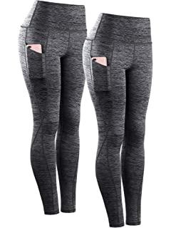 4 Way Stretch Non See-Through Workout Running Tights ylp38 - Black//Plum//Blue Small Tummy Control Yoga Leggings ATHLIO High Waist Yoga Pants with Pockets A1 Pocket 3pack