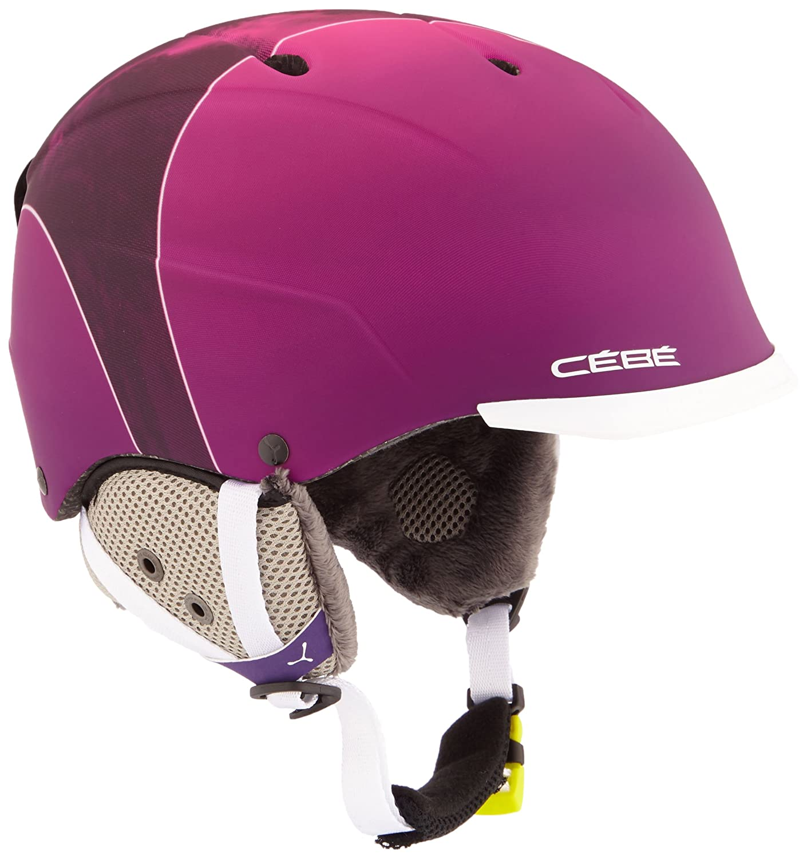 Cébé–Gafas de esquí casco Contest Visor Pro Rosa Mountain
