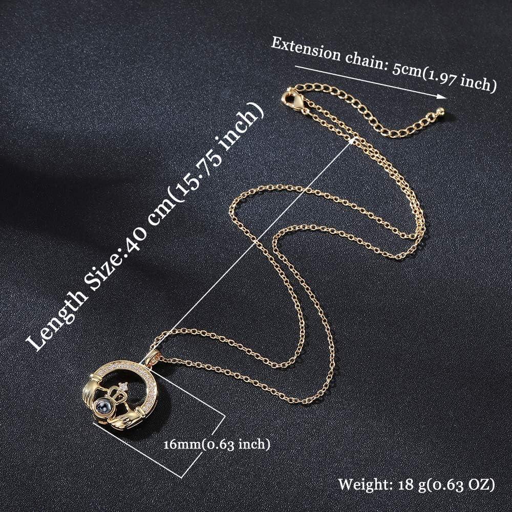 Amazon.com: Startoo - Collar con colgante de lenguaje de ...