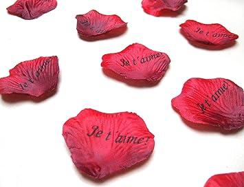 100 Petales De Roses Je T Aime Saint Valentin Deco Livraison Dure 3