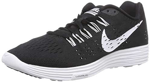 Nike Lunartempo, Men's Running Shoes, Black (001 Black/White-White)