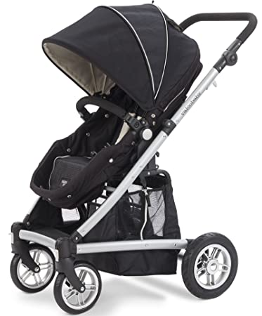 Amazon.com : Valco Baby Spark Stroller, Black, Newborn and Beyond ...