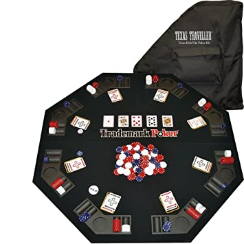 Great Amazon.com : Trademark Deluxe Poker And Blackjack Table Top With Case :  Sports U0026 Outdoors