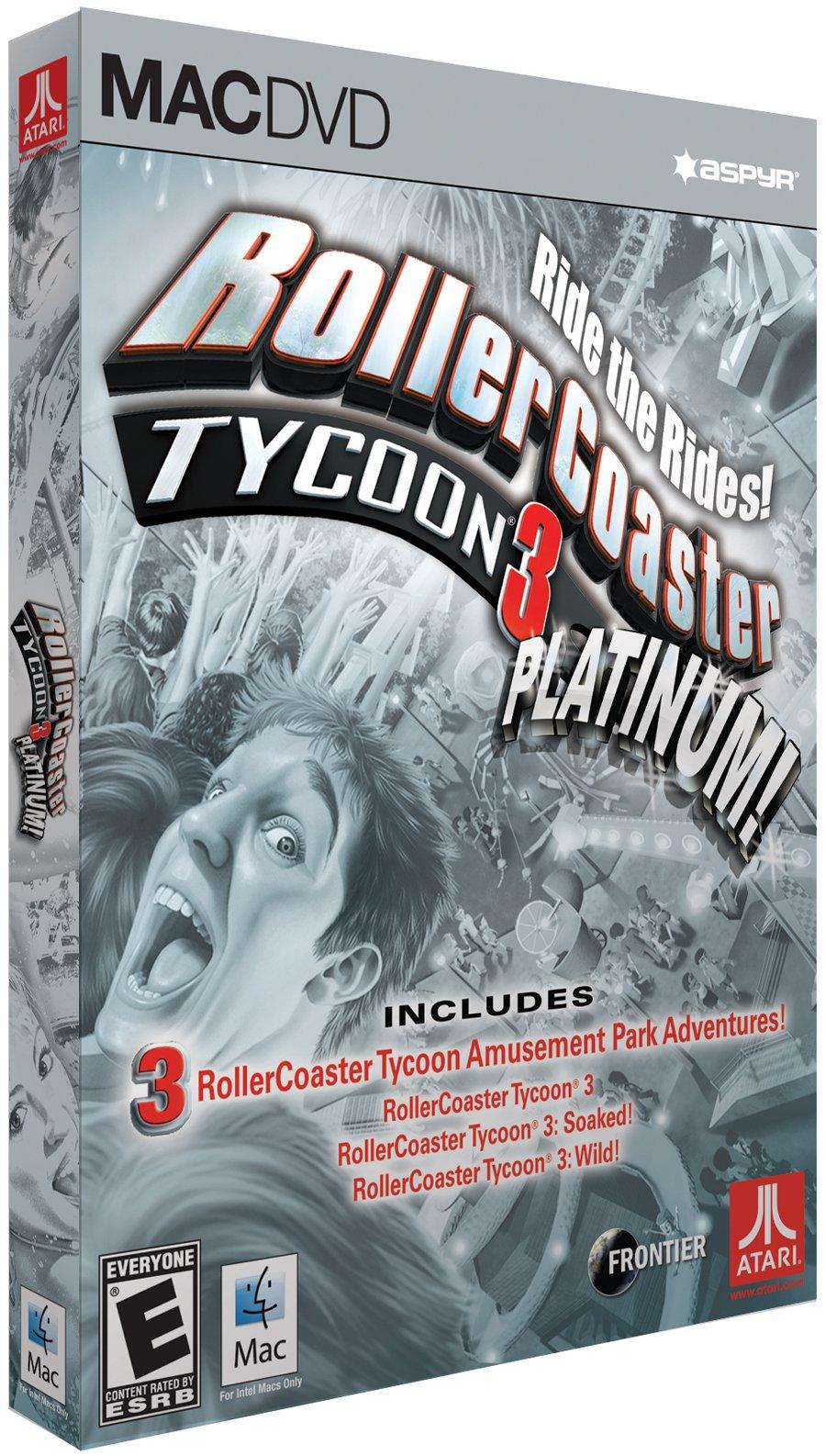 RollerCoaster Tycoon 3 Platinum - Mac by Aspyr
