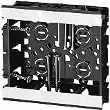 未来工業 浅形スライドボックス アルミ箔付 2ヶ用 SBS-W
