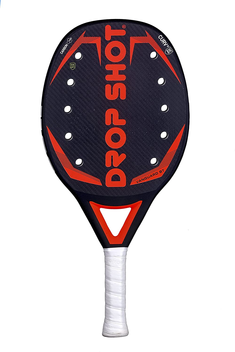 DROP SHOT Vanguard BT Pala Beach Tenis, Unisex Adulto, Blanco, 330-360 gr: Amazon.es: Deportes y aire libre