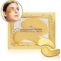 Revitale Gouden EYE Collageen masker, anti-rimpel vocht huidverzorging Patch Pad, Haluronzuur (10 Pack)