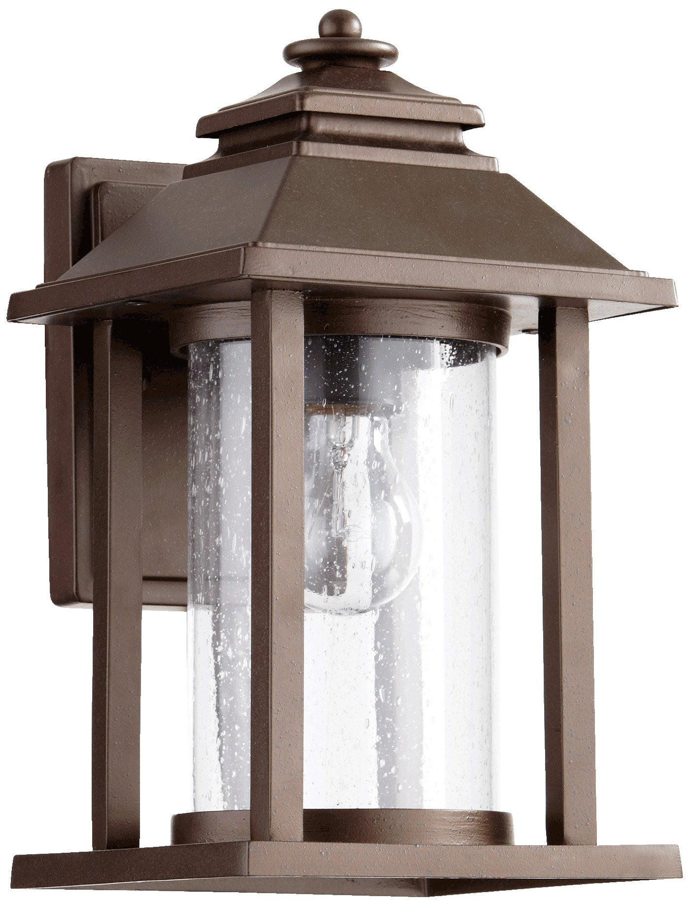 Quorum International 7271-86 Crusoe Lantern, 7'', Oiled Bronze