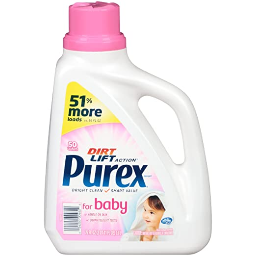 Purex for Baby Liquid Laundry.