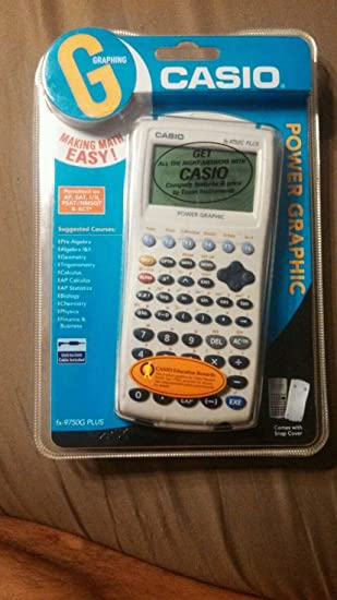 Casio fx-9750g plus graphing calculator with manual | ebay.