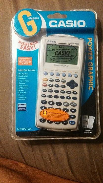 Casio fx-9750g plus power graphic calculator | ebay.