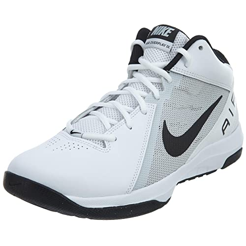 7e6cca0f46b Nike The Air Overplay Ix White Black-Pure Platinum Style  831573-100 Size