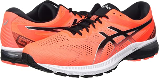 ASICS GT-2000 8, Zapatillas para Correr para Hombre, Sunrise Red Black, 47 EU: Amazon.es: Zapatos y complementos