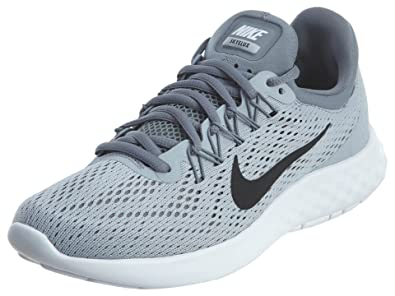 new arrival 22cb9 97ba1 Nike Womens Lunar Skyelux Running Shoe Wolf Grey Black Cool Grey White Size