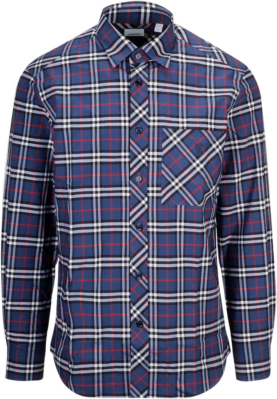 Burberry Luxury Fashion Hombre 8017562 Azul Camisa | Spring ...