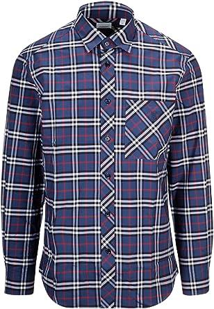 Burberry Luxury Fashion Hombre 8017562 Azul Camisa | Spring-Summer 19: Amazon.es: Ropa y accesorios