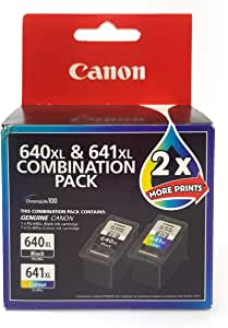 Canon Combo Ink Cartridges Twin Pack, Black/Multi-Colour, 28873