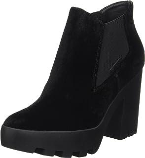 Calvin Klein Jeans Sydney, Botte compensée femme, Noir (Blk), 40 EU
