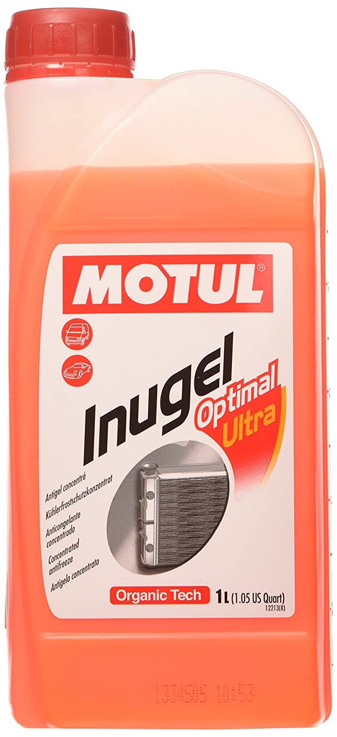 Motul 101069 Inugel Optimal Ultra Antifreeze, 1 L
