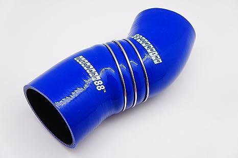 Autobahn88 Kit de manguera de silicona de admisión de aire, Modelo ASHK141-BL (