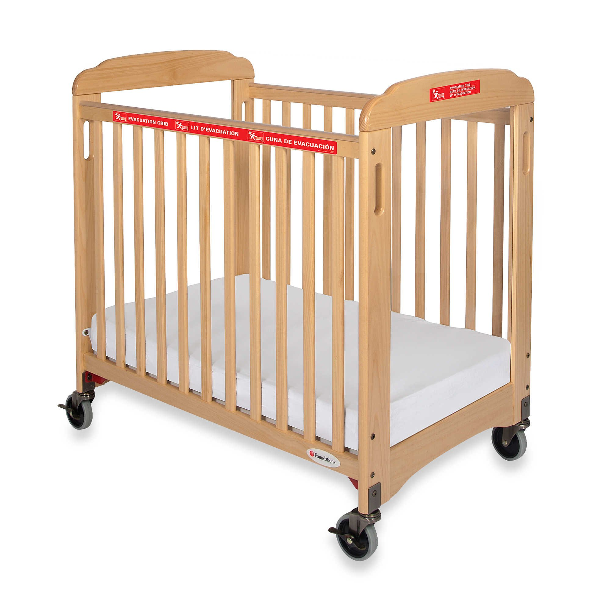Foundations First Responder Evacuation Crib in Natural