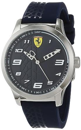 Scuderia Ferrari Reloj Analógico para Niños de Cuarzo con Correa en Silicona 840020: Amazon.es: Relojes