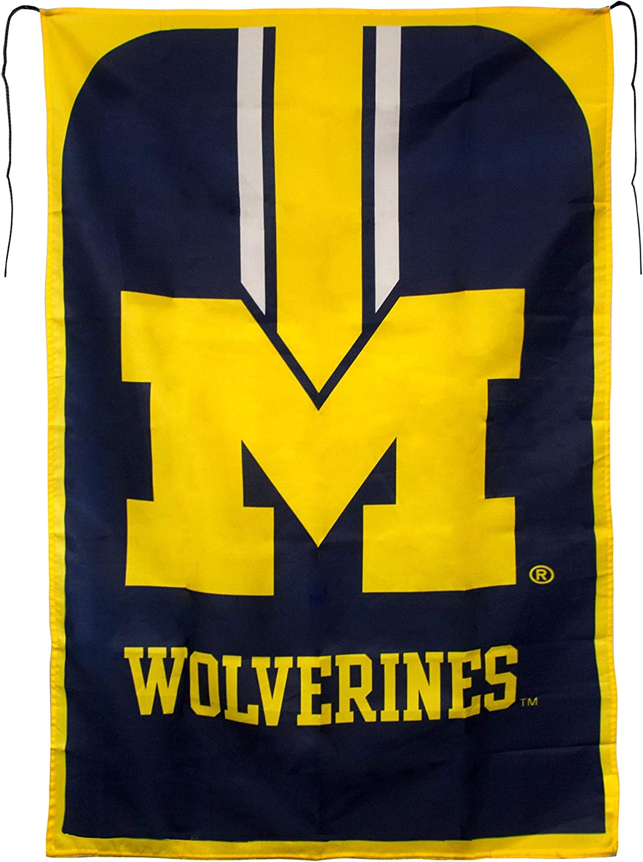 MLB Michigan Wolverines Team Fan Flag