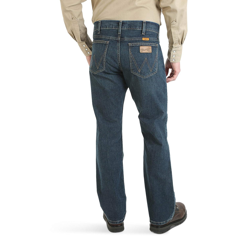 Wrangler Mens Fr Flame Resistant Slim Boot Cut Jean