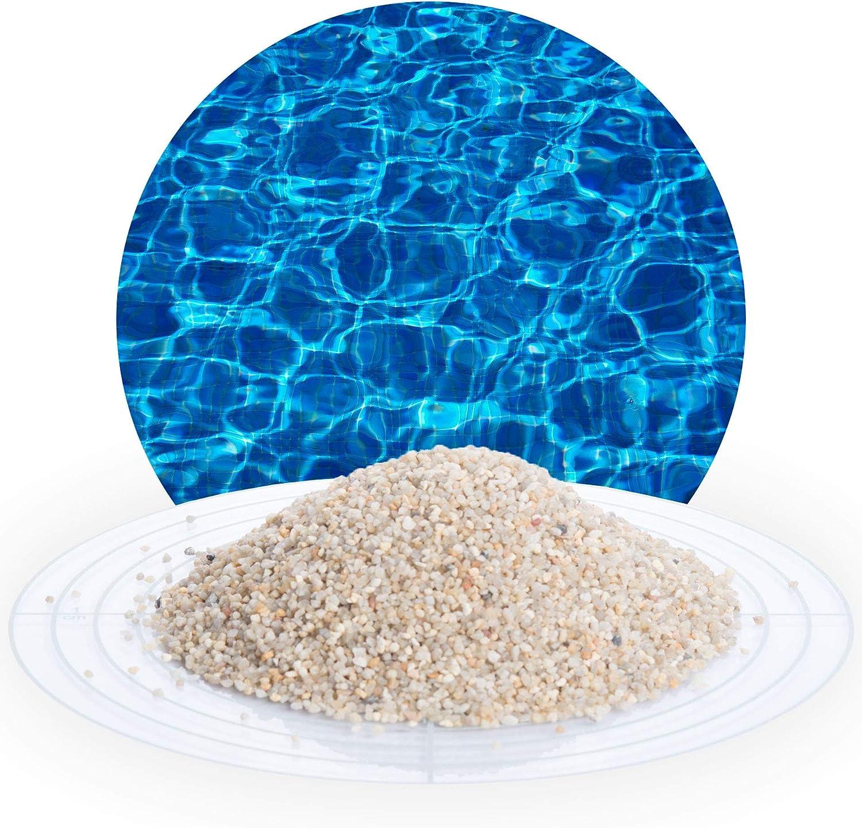 25 kg hygienischer Filtersand beige Quarzsand Teich nat/ürliches Filtermedium f/ür Sandfilteranlagen zur Reinigung von Pool Wasseraufbereitung von Schicker Mineral Filtersand//Filterkies beige, 0,71-1,25 mm Schwimmbad