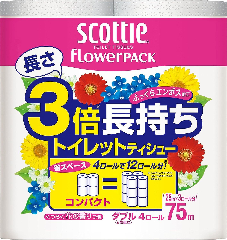 スコッティ®フワラーパック 3倍長持ちトイレットティシュー