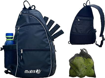 Pickleball Bag Adjustable Pickleball Sport Pickleball Sling Bag for Women Man