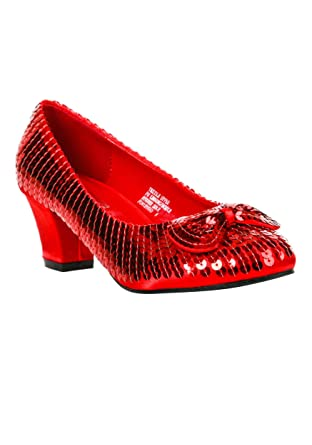 14bda6787153 Amazon.com  Adult Red Sequin Shoes  Clothing