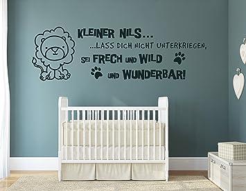 tjapalo® s-pkm150 Wandtattoo Baby Name Wandtattoo Babyzimmer jungen ...