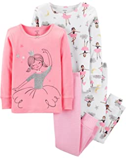 2c2b6cf34 Amazon.com  Carter s Girls  2T-16 4-Pc. Ballerina Snug Fit Cotton ...