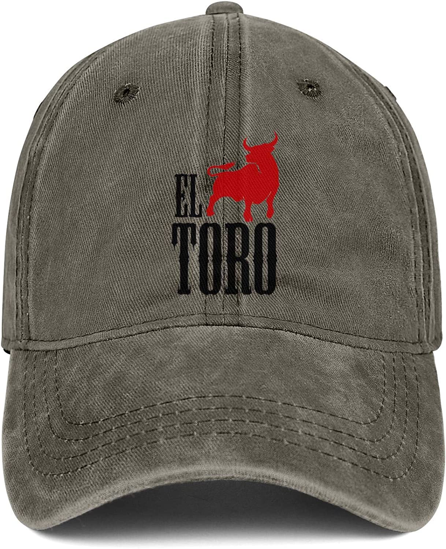WintyHC Toro Cowboy Hat Dad Hat Adjustable Fits Skull Cap