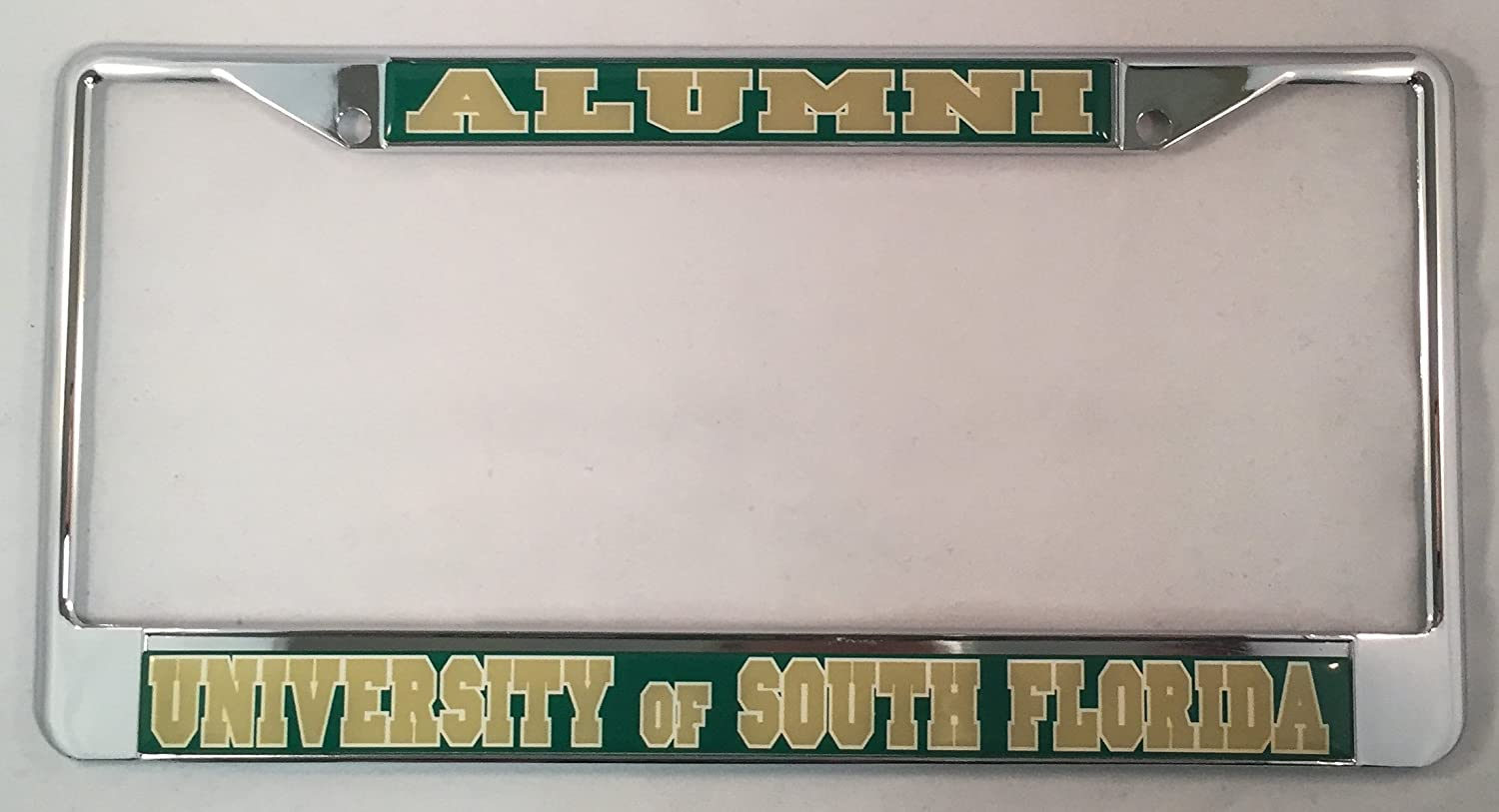 University of South Florida Alumni License Plate Frame Scotty Gear Fraternity /& Sorority Products