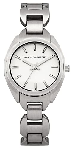 French Connection Damen-Armbanduhr Marsh Analog Quarz Edelstahl FC1174SM