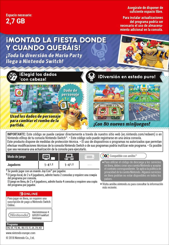 Super Mario Party | Nintendo Switch - Código de descarga ...