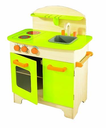 Hape Küche U0026quot;Gourmet Chefu0026quot;, Spielküche Aus Holz