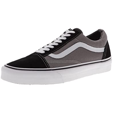 9cec12722b1119 Vans Men s Adults  Old Skool Classic Suede Canvas Sneakers Grey (Black Pewter)  10.5 UK  Buy Online at Low Prices in India - Amazon.in