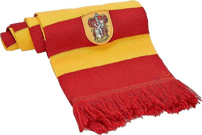 Cinereplicas - Harry Potter - Bufanda - Licencia Oficial - Casa Gryffindor - 190 cm - Rojo y Negro: Amazon.es: Juguetes y juegos