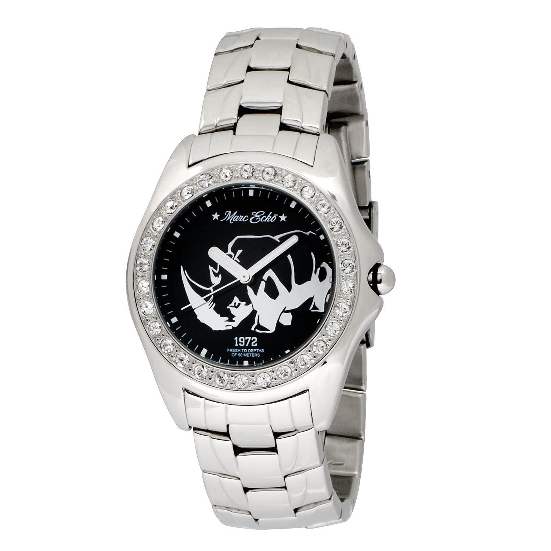 Amazon.com: Marc Ecko Men's E95016G4 Silver Stainless Steel Rhino Logo Watch:  Marc Ecko: Watches