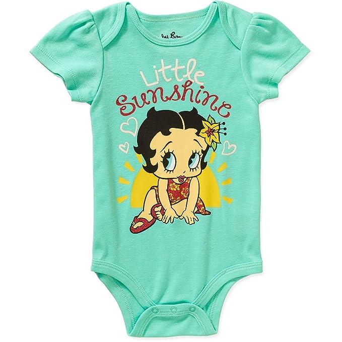 be91a3febda Amazon.com  Betty Boop Little Sunshine Baby Girls Bodysuit Dress Up ...