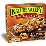 Nature Valley Granola Bars, Sweet and Salty Nut, Dark Chocolate Peanut & Almond, 6 Bars - 1.2 oz