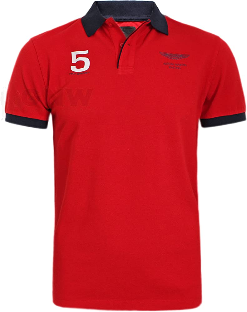 Hackett London - Polo - Liso - Cl�sico - para Hombre Rojo Rosso ...