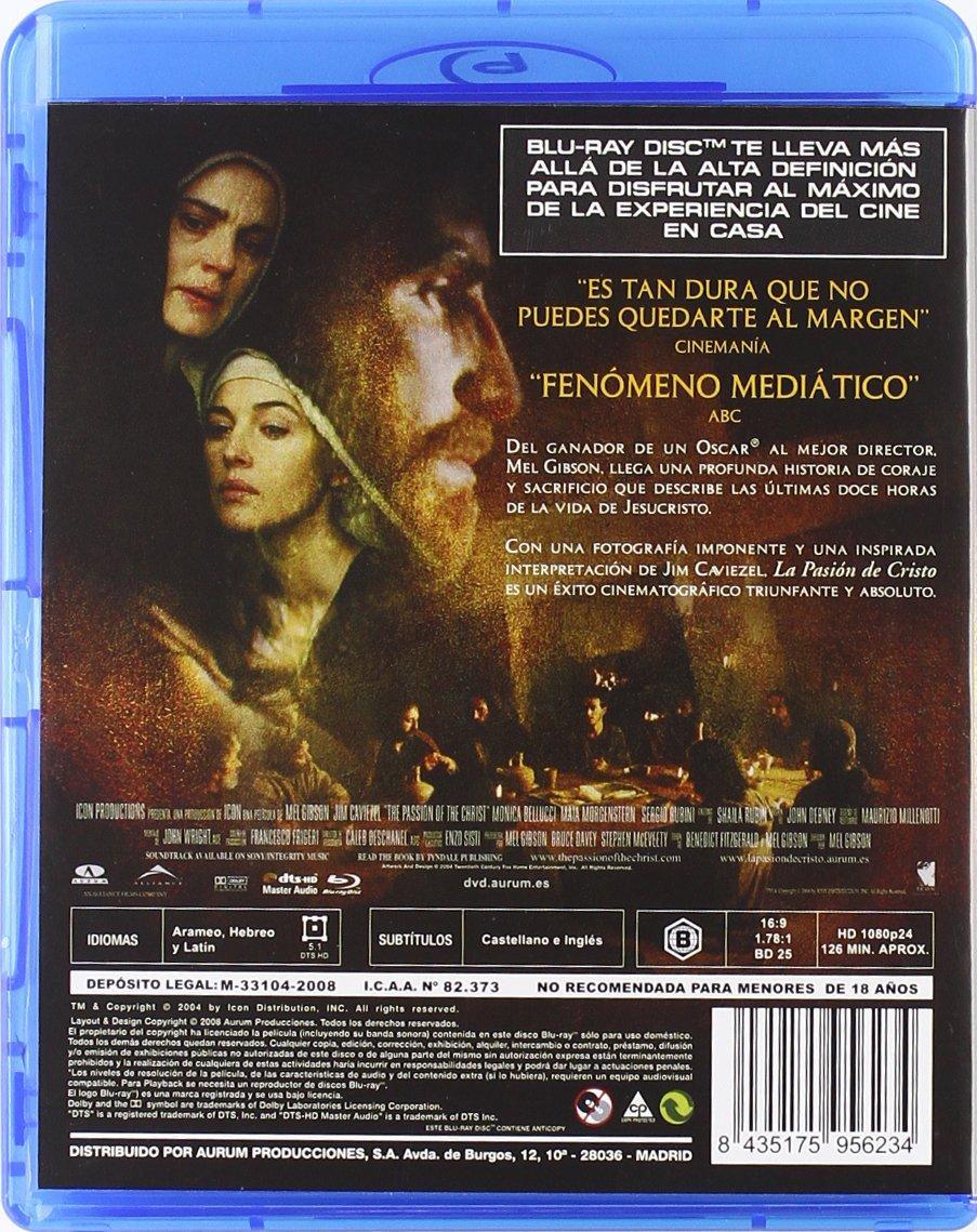 La pasión de Cristo  Blu-ray   Amazon.es  Monica Bellucci 57118ac667af