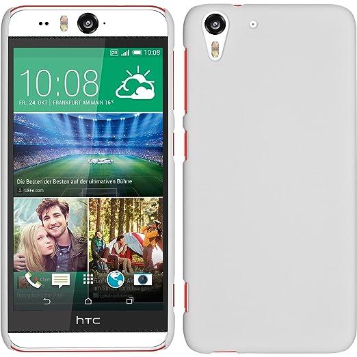 17 opinioni per Custodia Rigida per HTC Desire Eye- gommata bianco- Cover PhoneNatic + pellicola